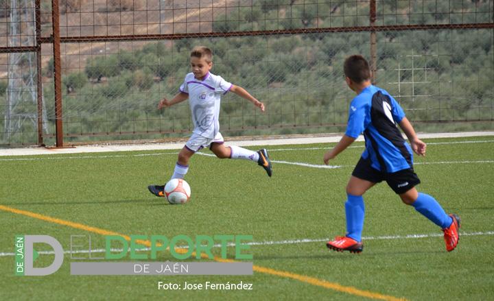 Buen debut de las categorías inferiores del Real Jaén en Copa Diputación