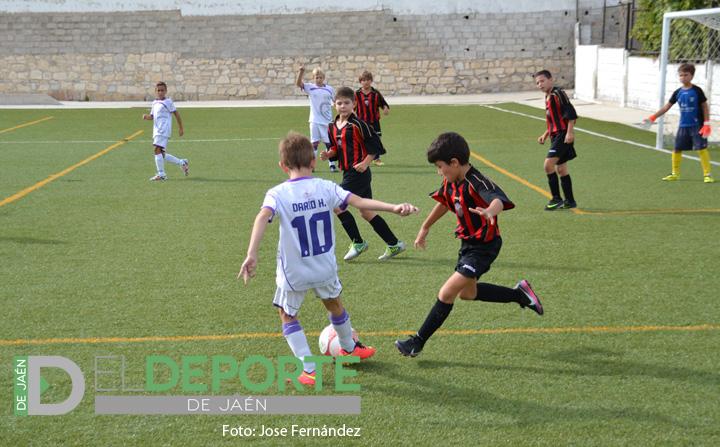 Espectacular goleada del Benjamín A del Real Jaén