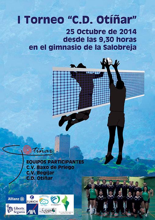La Salobreja acogerá el I Torneo CD Otíñar de voleibol