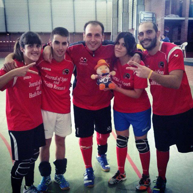 El Martos KinBallTeam, tercero del Campeonato Nacional de Valladolid