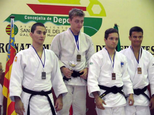 Sergio Sánchez, plata en la Copa de España Junior de judo