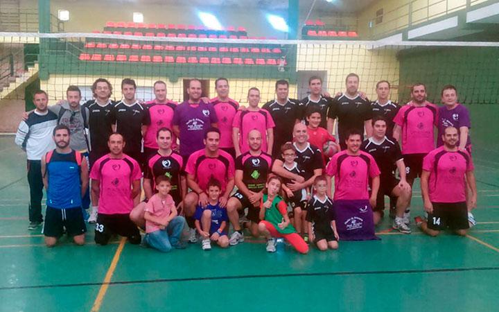 El CD Otíñar se lleva el torneo de voleibol frente al CV Begíjar y CV Baxo de Priego