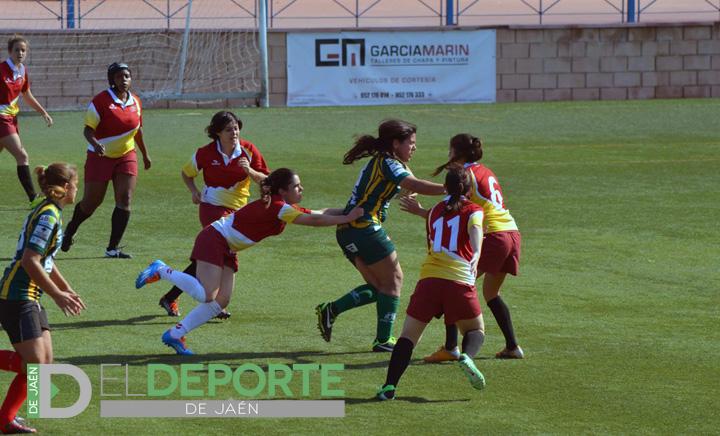 El Jaén Rugby Femenino muestra buena cara en el inicio de temporada