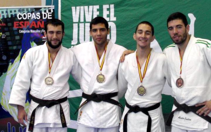 Dos oros, una plata y un bronce en la Copa de España de judo