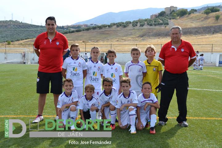 Primera victoria de la temporada para el Fundación Real Jaén Benjamín