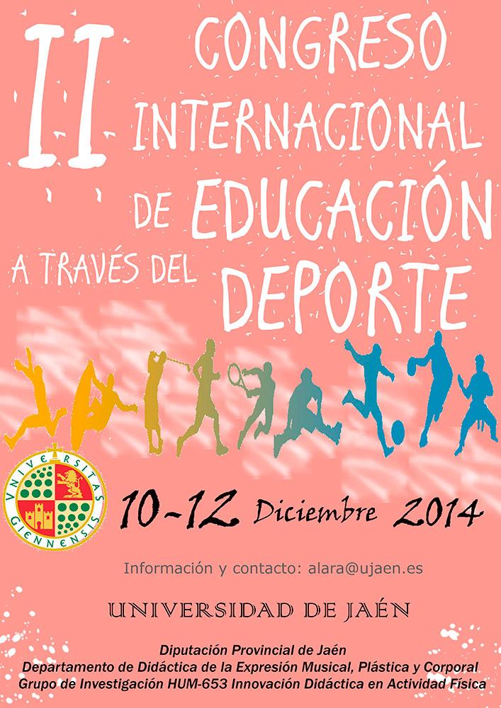 La UJA impulsa el II Congreso Internacional de Educación a través del Deporte