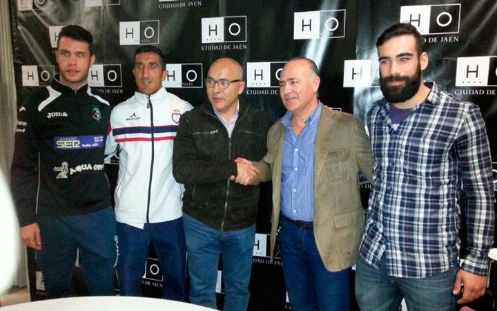 El Real Jaén y el Jaén FS firman un acuerdo de colaboración