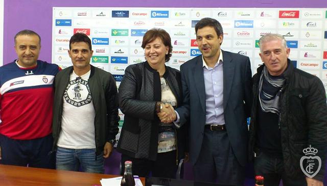 Real Jaén, Expansión Norte y CD Jaén 2012 unifican sus proyectos de fútbol base
