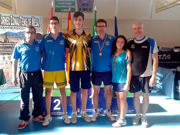 El CTM Jaén completa un buen Torneo Zonal