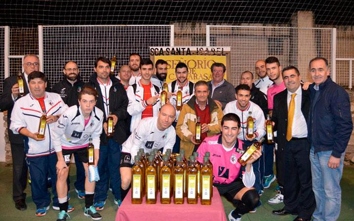 El Jaén FS se alza con el Trofeo Fuenmayor de Torres