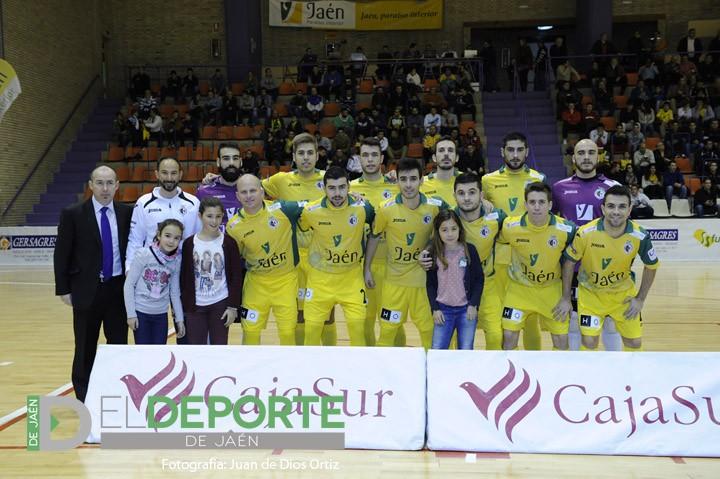 El Jaén FS afronta este sábado los cuartos de final de la Copa Presidente de la Diputación