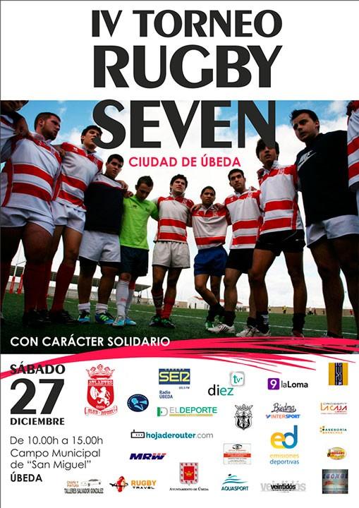 El IV Torneo Rugby Seven reunirá a diez clubes en la ciudad de Úbeda