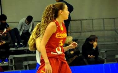 Alba Martín, del Jaén CB, debuta con la selección U´15 de baloncesto