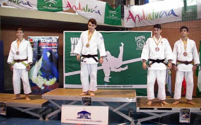 Plata y bronce de los jiennenses en la Copa de España de judo Cadete