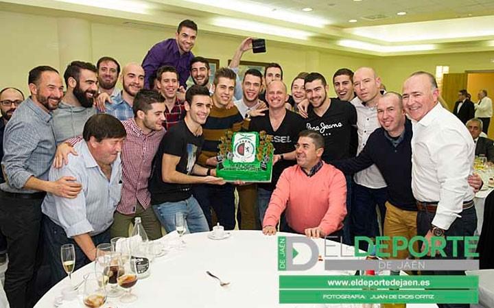 El Jaén Paraíso Interior FS celebró su comida de Navidad (fotogalería)