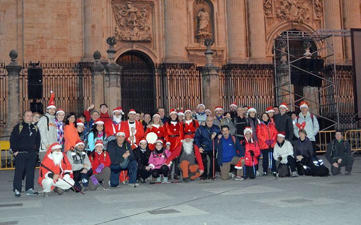 La Asociación Jacobea de Jaén realiza su ruta navideña en el Camino Mozárabe (Jaén-Martos)