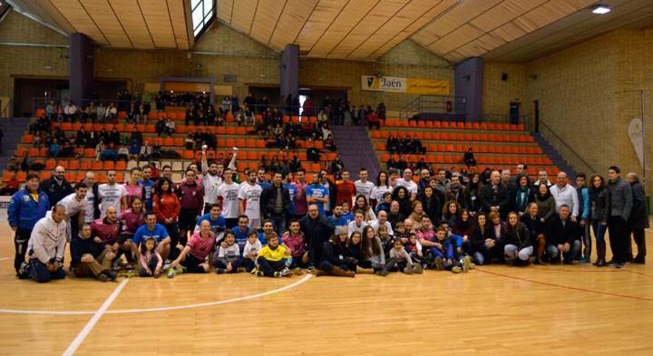 La Salobreja acogió una Jornada de solidaridad y fútbol sala con el I Triangular Solidario