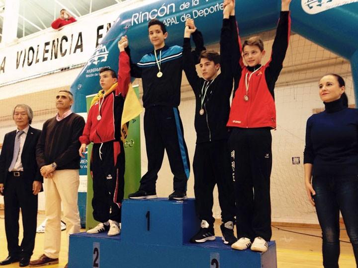 Eduardo Jódar, campeón de Andalucía Cadete de taekwondo