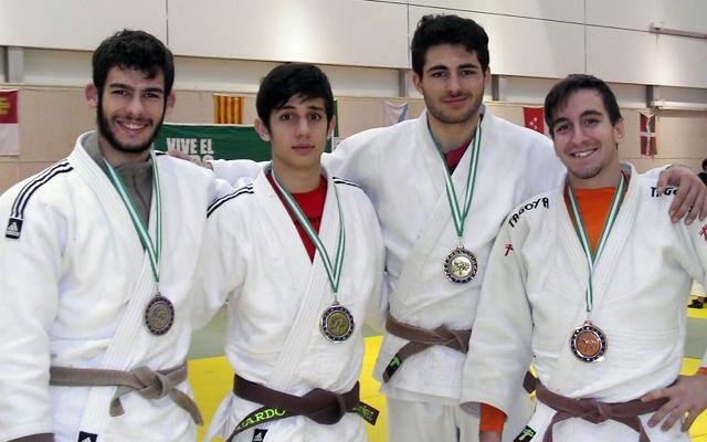 Ordóñez y Buendía, campeones de Andalucía Junior en judo