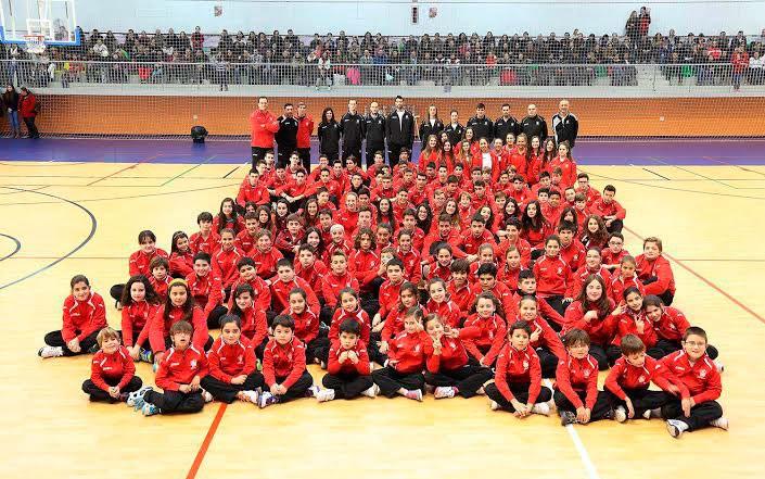 El Jaén CB presentó a sus equipos de la 2014-15 en una jornada de convivencia