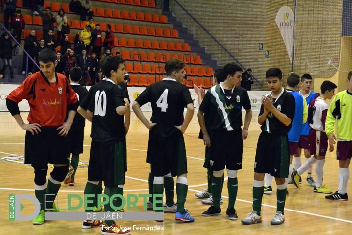 Andalucía se queda a dos goles de la fase final del Campeonato de España