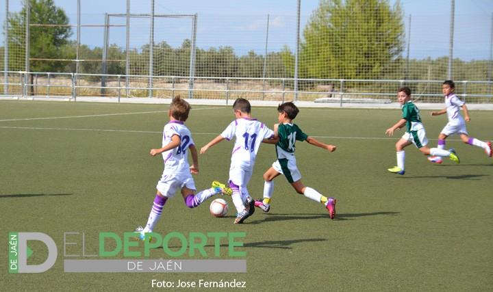 Victoria por goleada del Real Jaén Prebenjamín