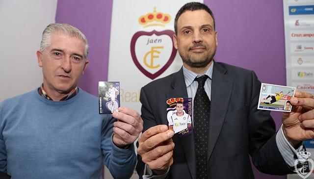 El Real Jaén presenta su colección de cromos