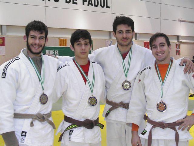 En la imagen, de izquierda a derecha: Manuel Narváez, Eduardo Ordóñez, Pablo Buendía y Juan de Dios Pérez