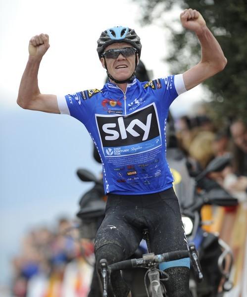 Chris Froome vence en el Alto de Allanadas y se adjudica la Vuelta Ciclista a Andalucía
