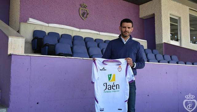 Ramón Tejada: «Venir al Real Jaén es una ilusión y un crecimiento importante en todos los sentidos»
