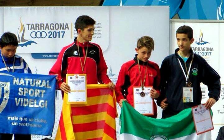 Eduardo Jódar, bronce en el Campeonato de España cadete de taekwondo