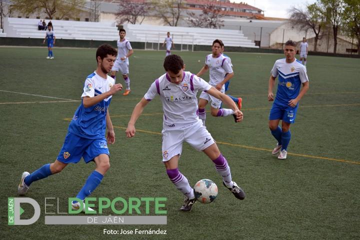 Paso atrás del Real Jaén Juvenil de Liga Nacional en su objetivo por el ascenso de categoría