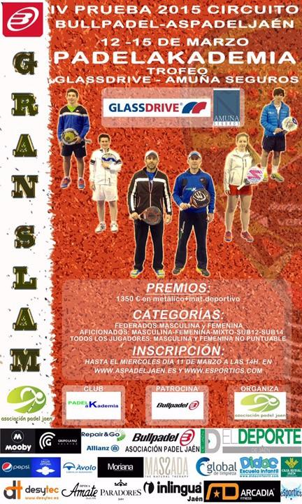 PadelaKademia será la sede del primer Gran Slam de la temporada
