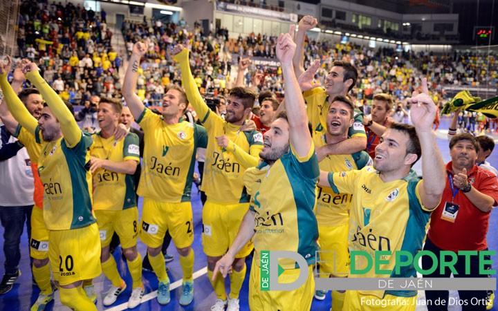 El Jaén FS vence con sacrificio a ElPozo y pasa a la Semifinal de la Copa (la crónica)