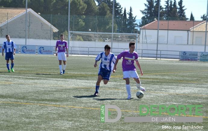 Marc Rueda, del Real Jaén Cadete, convocado con la selección andaluza sub16