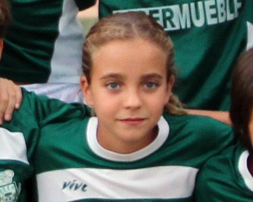 María Ruiz, del CD Úbeda Viva, citada con la selección andaluza sub-12