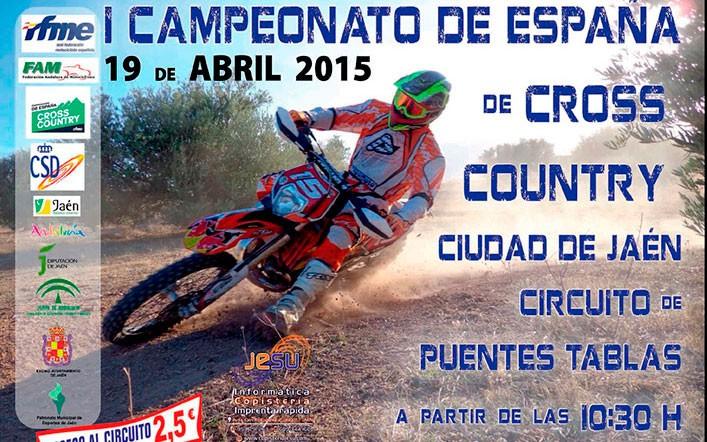 El circuito de Puente Tablas acogerá el I Campeonato de Cross Country 'Ciudad de Jaén'
