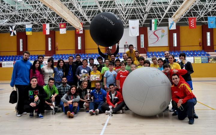 El kinball andaluz se citó en Martos con el protagonismo de las categorías inferiores
