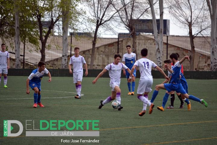 El Real Jaén Juvenil de Liga Nacional mantiene sus opciones de pelear por el ascenso