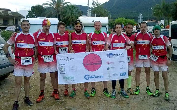 Trailrunners Jaén completa con éxito el I Trail de Lanjarón