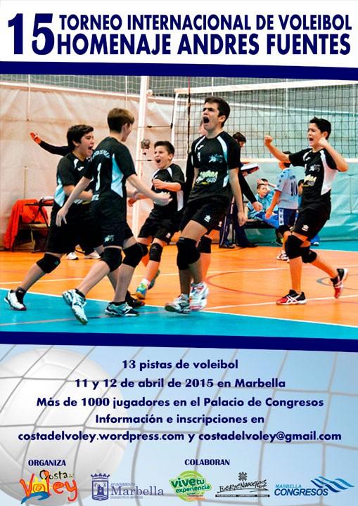 El CD Otíñar participará en el XV Torneo Internacional de Voleibol 'Homenaje Andrés Fuentes'