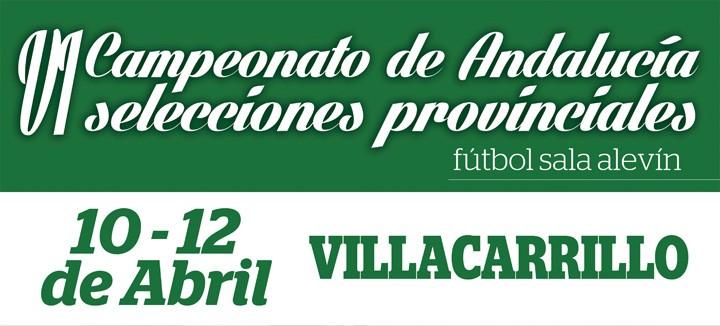 La selección alevín de Jaén defenderá título en el Andaluz de fútbol sala de Villacarrillo