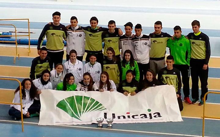 El Unicaja Atletismo arranca en pista al aire libre con el Andaluz júnior por equipos