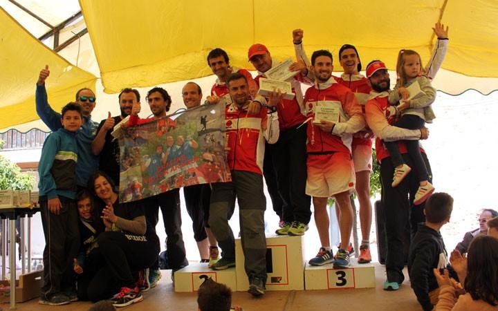 El CM Trailrunners Jaén copa las victorias en el III Reto Araque Trail de Jamilena