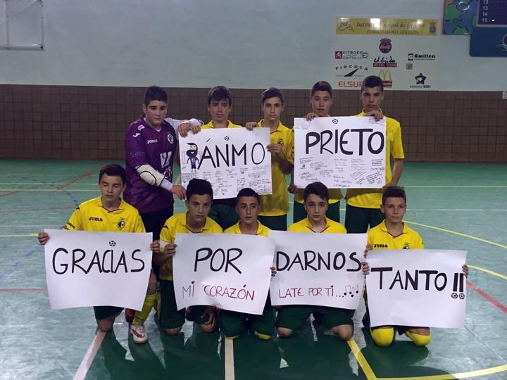 Los infantiles del Jaén FS consiguen el pase a cuartos de final del Andaluz de clubes