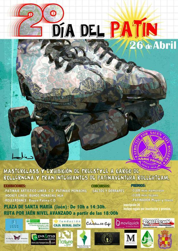 El domingo se celebrará una jornada de patinaje a los pies de la Catedral