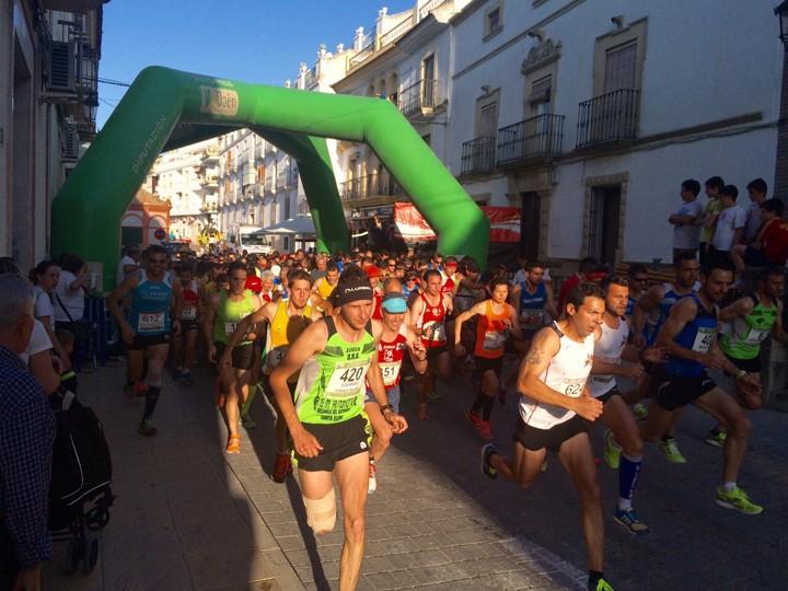 Momento de la salida de la Carrera Urbana de Arjona. Foto: Diputación de Jaén.