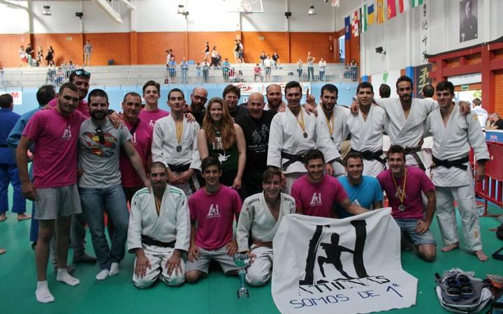 El CD Athenas asciende a la Primera División de la Liga Nacional de Clubes de Judo