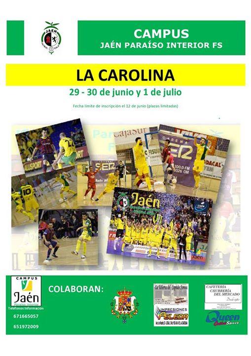 El campus del Jaén FS llegará hasta La Carolina y Jódar
