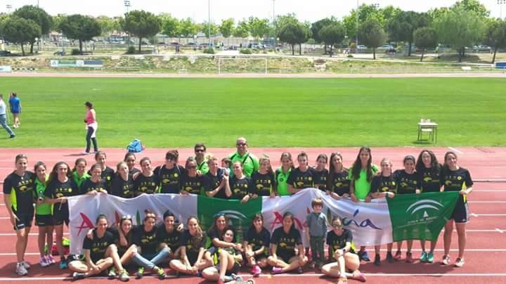 El equipo femenino del Unicaja Atletismo vence en Alcorcón